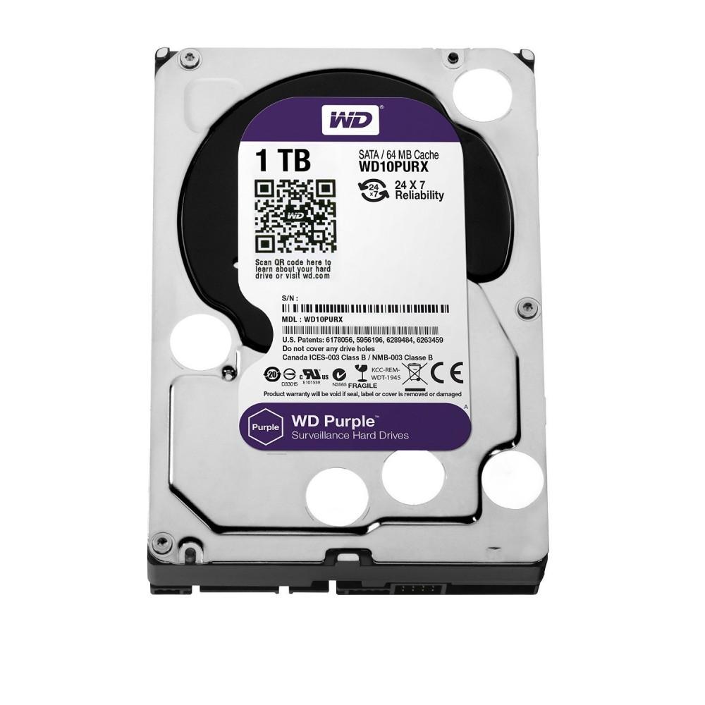 Wd 4tb Purple Surveillance Oem Internal Hard Drive Wd1tb