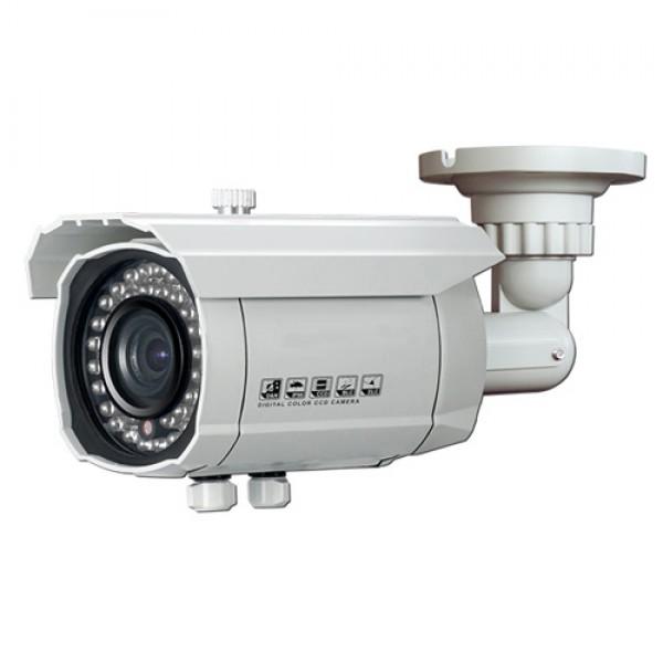 "2.0MP 1/3"" CMOS HD-TVI 1080p Bullet Camera 2.8-12mm Lens IP66 White"