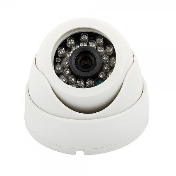 "Dripstone 2.0MP 1/3"" CMOS HD-TVI 1080p Dome Camera 3.6mm Lens IP66 Weatherproof and Vandal Proof Metal Case"