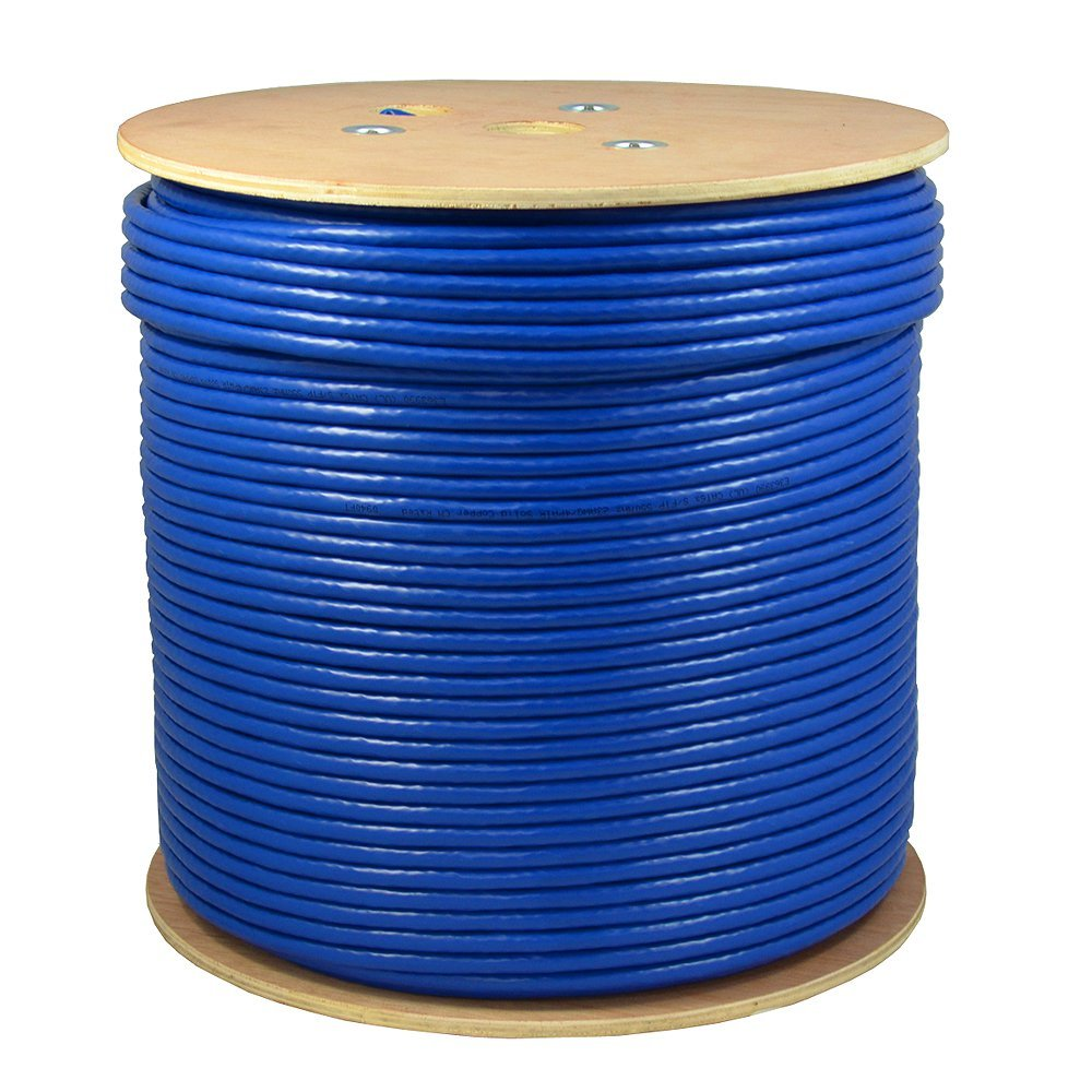 Dripstone 1000ft Cat6 In Wall Cm Rated Ul Bare Copper Wire