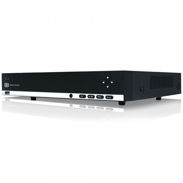 Dripstone 4MP 4 Channels NVR with Built in PoE and ONVIF Support