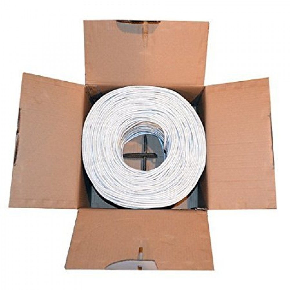 Dripstone 1000ft cat6 in wall cm rated ul bare copper wire 23 awg 1000ft cat6 in wall cm rated ul bare copper wire 23 awg utp solid ethernet keyboard keysfo Gallery