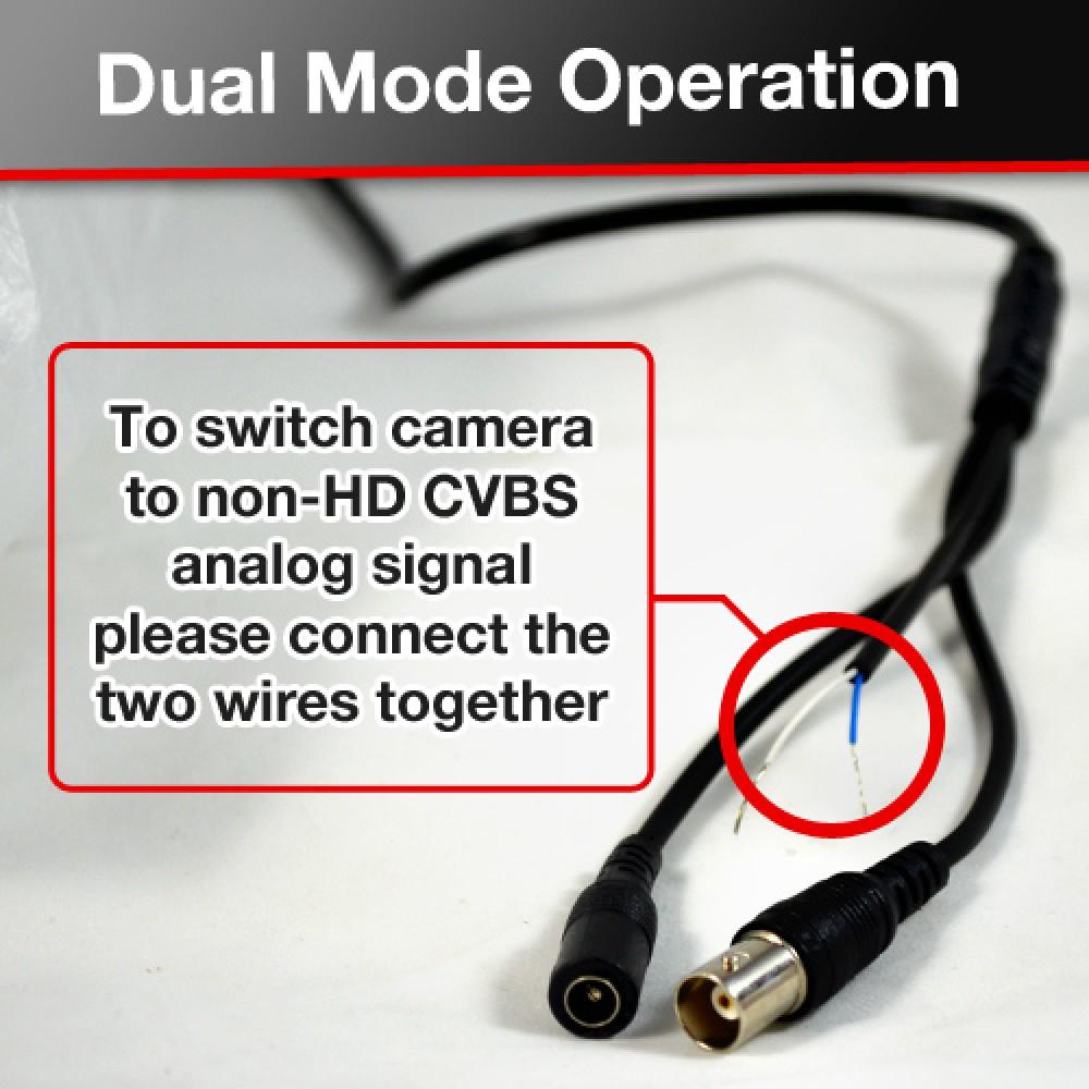 2.4MP 1080P Sony CMOS CCTV Security Dome HD-TVI Camera 2.8-12mm Lens ...